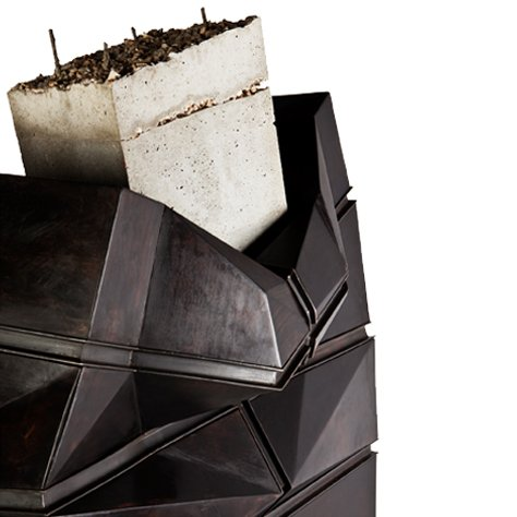 Erwan Boulloud - Fracture Verticale Tallboy/Chest of Drawers